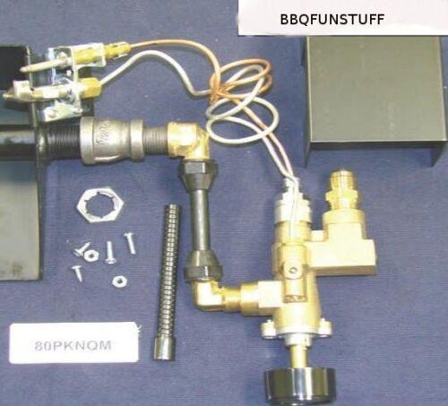 Gas Log Fireplace Brass Safety Pilot Light Natural Gas Complete Kit New  80PKNQM