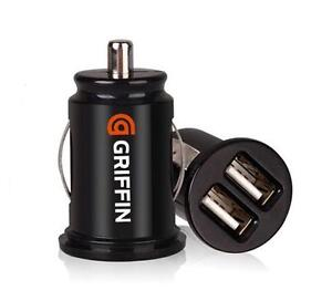 Mini-high-power-USB-Dual-Ports-Car-Charger-Charger-Rechargeable-Adapter-GTAU