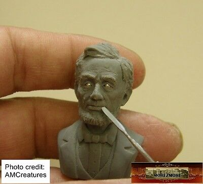 M00565 MOREZMORE AMC Round Spatula Miniature Clay Model Sculpting Micro Tool A60