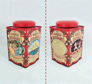 Vintage Red Square Marquess of Queensberry's Tin