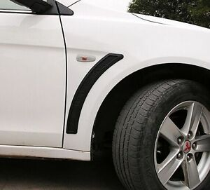 Matt Black Look Side Vents Guards For Mitsubishi Lancer CJ CF EVO ES VRX SPORT
