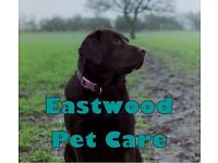 Eastwood Pet Care - Professional dog walking & pet services covering Eastwood & surrounding areas