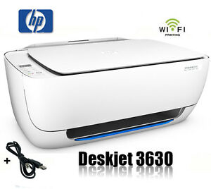 hp deskjet 3630 multifunktions wifi drucker scanner kopierer printer neu ebay. Black Bedroom Furniture Sets. Home Design Ideas