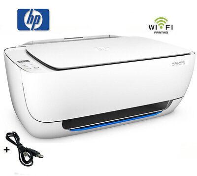 HP DESKJET 3630 /3639 MULTIFUNKTIONS WIFI DRUCKER SCANNER KOPIERER PRINTER  *NEU