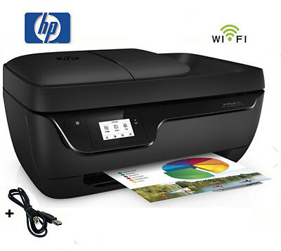 HP OFFICEJET 3833 MULTIFUNKTIONS WIFI DRUCKER SCANNER KOPIERER FAX * NEU
