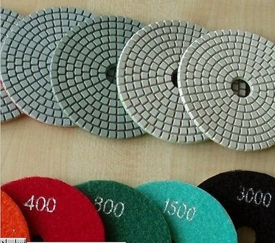 5 Inch Diamond Polishing Pad 30 Granite Concrete Marble Stone Block Floor Tile