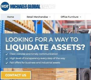 We Buy Your Excess Inventory, Office Furniture & Industrial Equipment