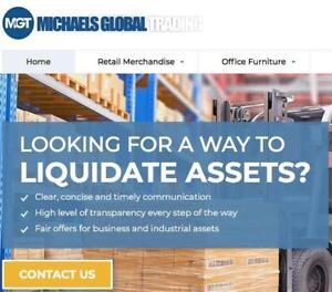 Quick Cash For Office Furniture, Warehouse Equipment & Retail Merchandise - We Buy It All!