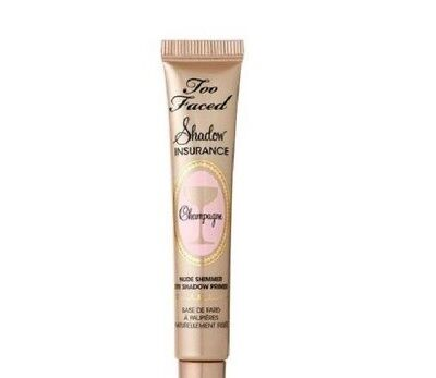 TOO FACED SHADOW INSURANCE CHAMPAGNE NUDE SHIMMER EYE SHADOW PRIMER 0.17 OZ NWOB