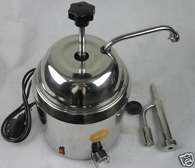 Hot Fudge Nacho Cheese Chocolate Dispenser Warmer Cheese Water Heating Machine S