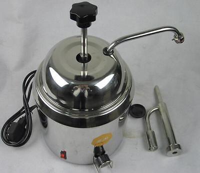 Hot Fudge Nacho Cheese Chocolate Dispenser Warmer Cheese Water Heating Machine T
