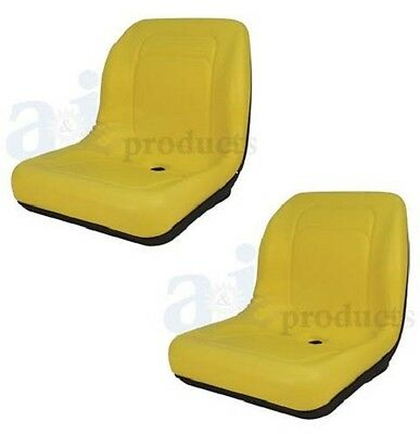 Set Of 2 High Back Seats For John Deere Trail Worksite Turf Gator 4x2 6x4