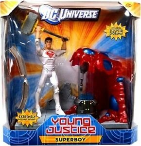 DC UNIVERSE YOUNG JUSTICE 6 INCH SUPER BOY ACTION FIGURE NEW