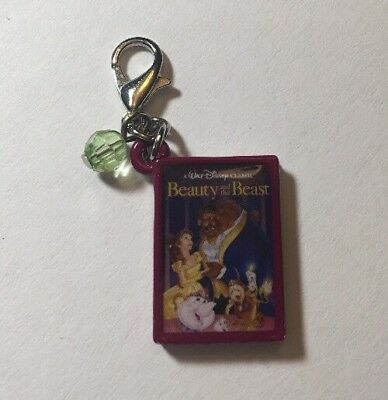 Disney Parks Charmed In The Park - Beauty And The Beast Book Charm