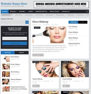 Beauty Store - Online Business Website For Sale - Work From Home Domain Host