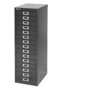 BISLEY-15-MULTI-DRAWER-FILING-CABINET-BRAND-NEW-BLACK