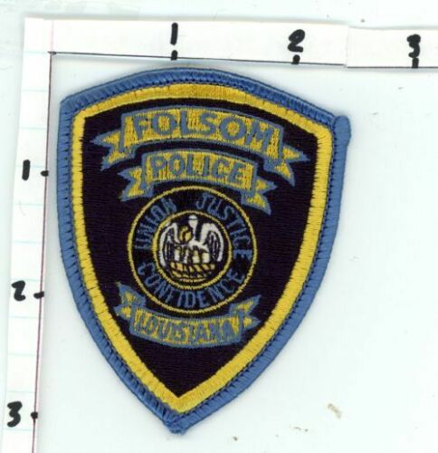 FOLSOM POLICE LOUISIANA LA NICE NEW COLORFUL PATCH SHERIFF