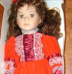 Genuine Porcelain Doll - Century Collection - with Certificate. Stratford Kitchener Area image 4