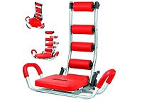 GYM ABDOMINAL FITNESS Trainer AB ROCKET TWISTER Exerciser Crunches MACHINE Bench