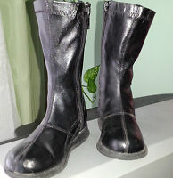 Girls Black Boots - Size 7