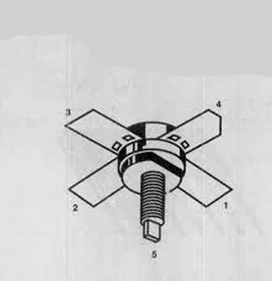 Mrf221 Npn Rf Transistor - Nos