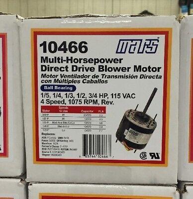 Mars 15-34 Multi-hp 115v 1075rpm Blower Motor 10466