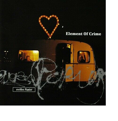 Element Of Crime – Weißes Papier / Polydor Records CD 1993 – 517 756-2