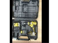 Brand New DeWalt XR DCD795 18v with 2 batteries and charger