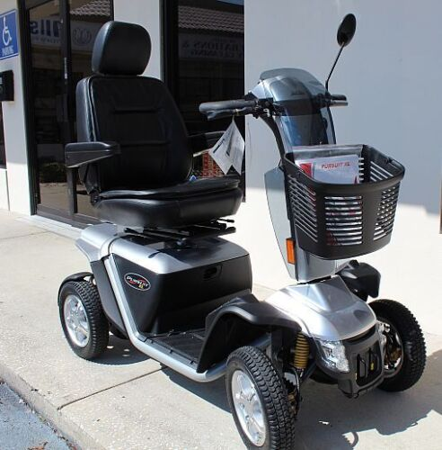 Pride Pursuit Xl Pmv Heavy Duty Mobility Scooter 75ah Used Model S714 Deal