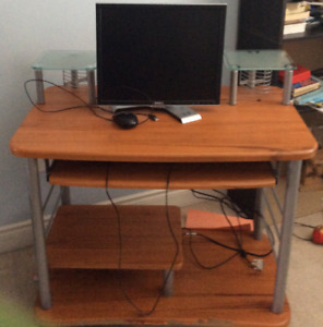 Computer Peripherals (and Desk) for sale