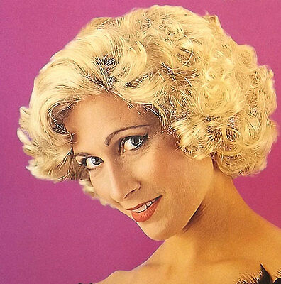 MARILYN MONROE COSTUME WIG Glamour Movie Star Blond Wig Economy Style](Marilyn Monroe Costume Wig)