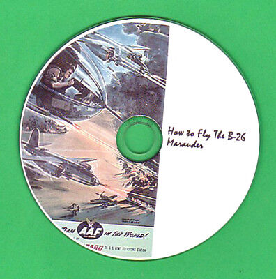 DVD How To Fly the Martin Marauder B-26 WWII Bomber for sale  Fort Lauderdale