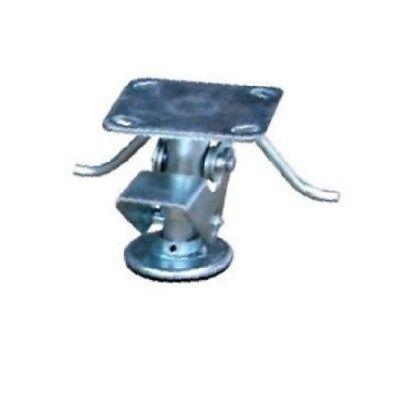 Colson Floor Lock For 4 Wheel 4-12 Lower To 5-1732 Raised 2.62x3.62