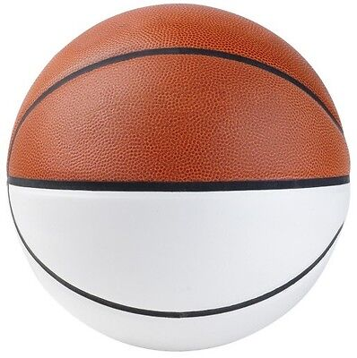 New Martin Official Size Autograph Composite Basketball W 4 White Panels