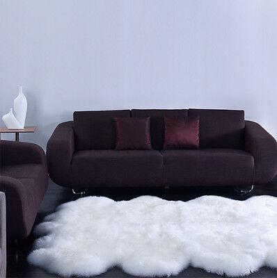 - Bowron Premium Authentic Australia Genuine Natural Sheepskin Rug Octo 67