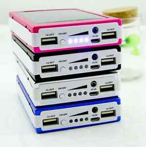 Solar power bank mobile / ipad charger with 100000 mAh Battery