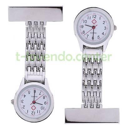 Präzise Schwesternuhr Krankenschwester Quarz Uhr Metall Neu