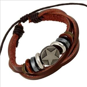 HIGH QUALITY LEATHER BRACELETS SALE BRAND NEW CLEARANCE