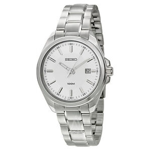 Seiko Dress Watch sur067 Stainless Steel- NEW in box