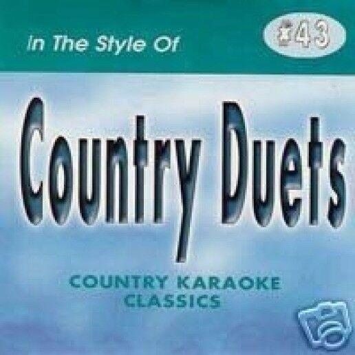 COUNTRY DUETS Karaoke CD CDG 17 Sgs A BAD GOODBYE It