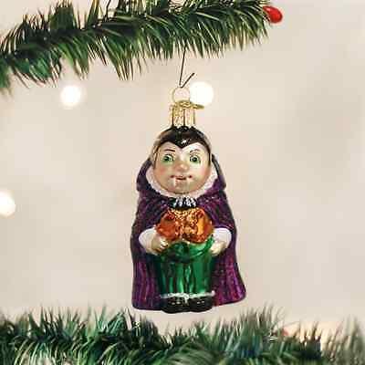 *Lil' Dracula* [26025] Old World Christmas Glass Halloween Ornament - NEW - Old World Glass Ornaments Halloween
