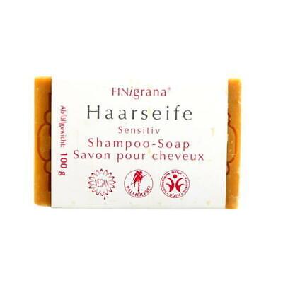 Haar Seife (6,59€/100g) Shampoo Sensitiv Bio Vegan mit Schwarzkümmel