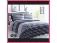 Textured Stripe Duvet Sets