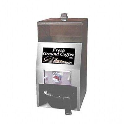 Al-len Stainless Steel Adjustable Portion Control Ground Coffee Dispenser