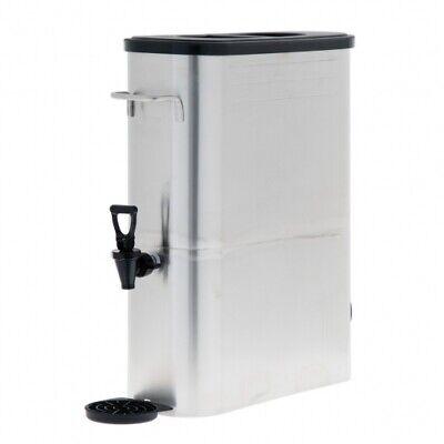 Commercial 5 Gallon Stainless Steel Iced Tea Iced Coffee Lemonade Dispenser