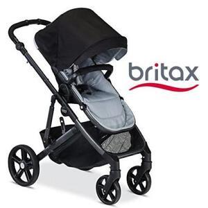 USED BRITAX B-READY STROLLER U521848 189906798 GREY/BLACK BABY GEAR