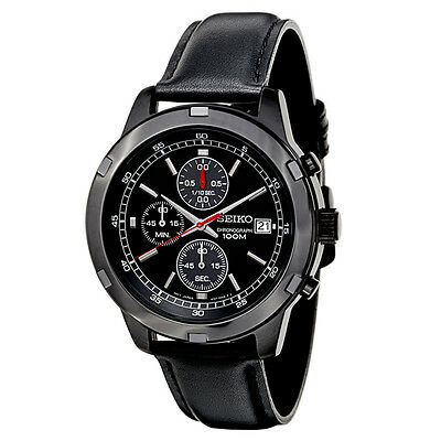 Seiko Chronograph Men\s Quartz Watch SKS439