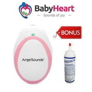 Angelsounds Baby Fetal Doppler Baby Heart Beat Monitor