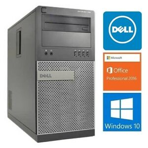 Dell Optiplex 790 : i5-2400: 3.1GHZ,8GB RAM,HD 500GB : 215$