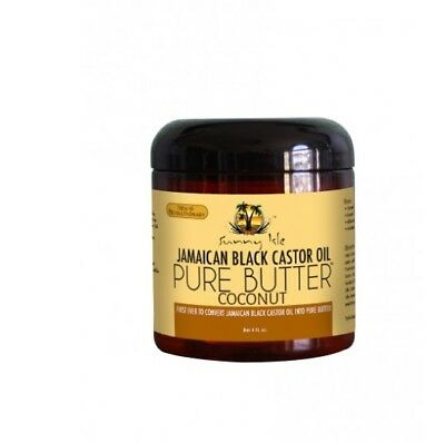 Sunny Isle Jamaican Black Castor Oil Pure Butter Coconut Best For Sensitive